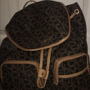 this calvin klein bag is brand new and never used!